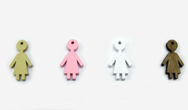 Ξύλινα αντικείμενα : Ξύλινο κορίτσι