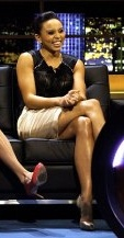 Good luck to Louise Hazel for tomorrow's Heptathlon event! Looking lovely here in our http://www.bastyan.co.uk/paris-corset-dress/sale/bastyan/fcp-product/4110005525
