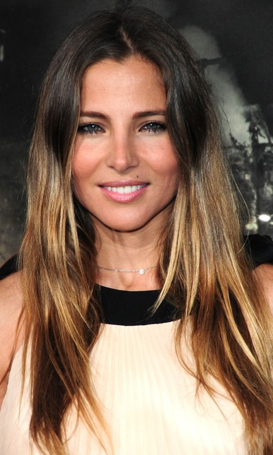 Elsa Pataky's Golden Hues Are The Perfect Way To Add Warmth To Your Dip-Dyed Style