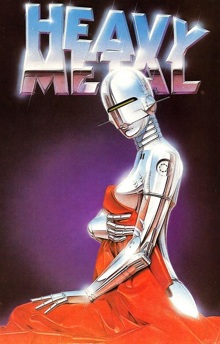 Hajime Sorayama – Heavy Metal Cover