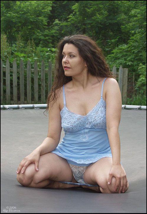 Pinterest white slips boobs