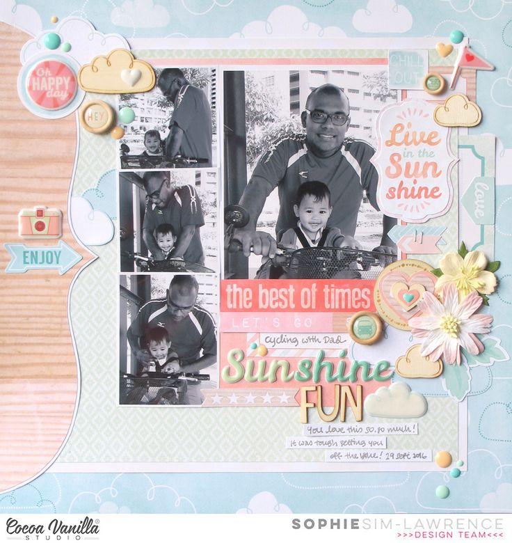 Sunshine Fun | Endless Summer | Sophie Sim-Lawrence