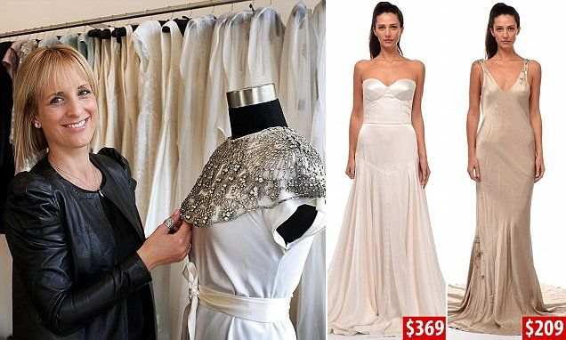 Johanna Johnson wedding gowns auctioned off from just $9 on Gray's Online   Daily Mail Online