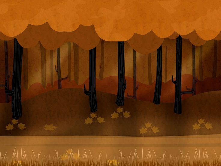 Jungle theme background