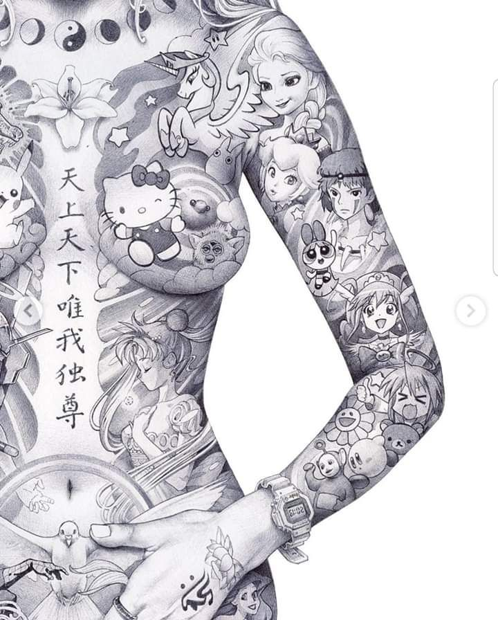 Pin By Zombie Tophat On Artwork Anime Drawings Tutorials Japan Art Anime Tattoos
