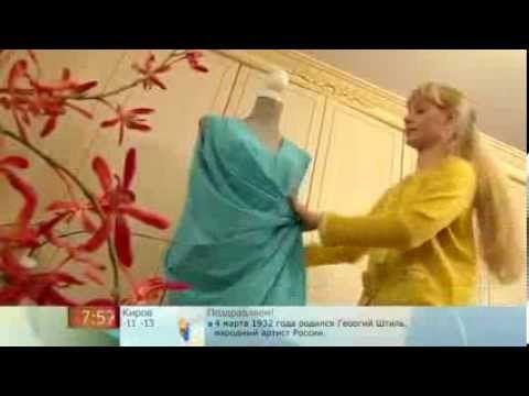 Ольга Никишичева Сшить летнее платье Sew a summer dress - YouTube