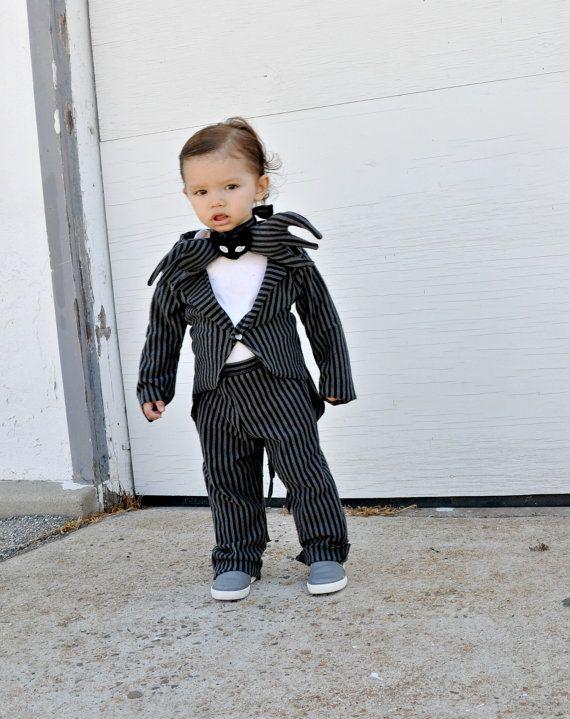 Boys babies costume Jack skellington nightmare by zorraindina