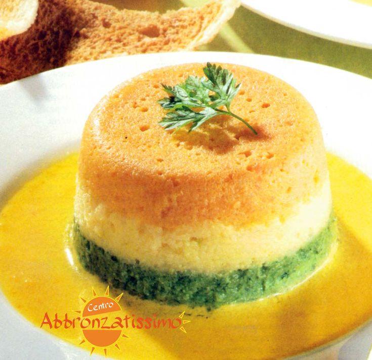 Mousse di Verdure Miste con una squisita salsa di peperone giallo!