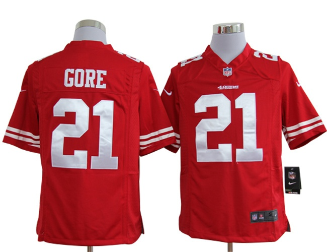 ffa33244b Color Womens NFL Game Jersey Women Nike San Francisco 49ers 21 Frank Gore  Mens NFL San Francisco 49ers Frank Gore Game Team Color Jersey 19.58 ...
