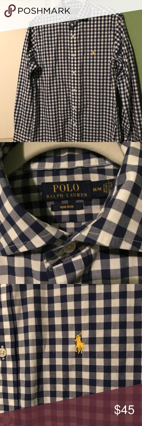 Men's Ralph Lauren Polo Dress Shirt New without tags. Bought but never worn. Size medium. Classic Fit. Look stylish without paying full price. Bundle for deals! Polo by Ralph Lauren Shirts Dress Shirts