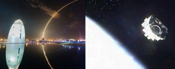 SpaceX Falcon 9 launches debut dual satellite mission