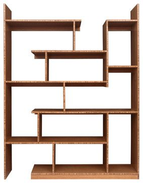 bamboo stagger metro modern wall shelves other metro brave space design