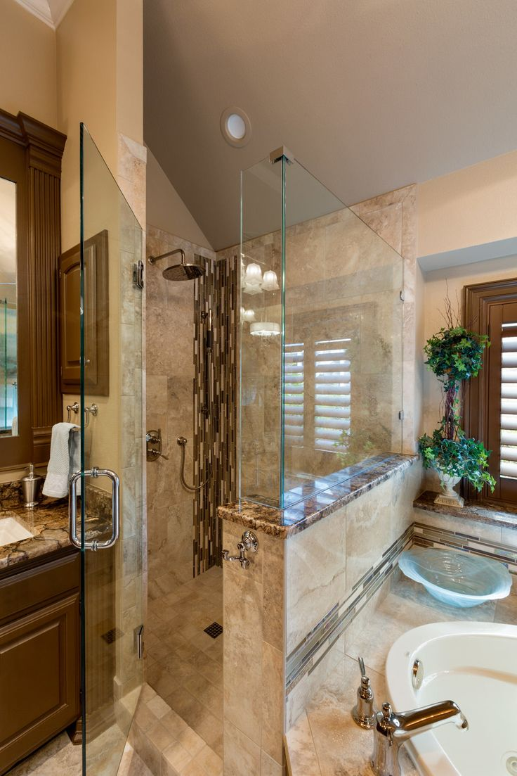 Coliseum Granite Countertops Tile Nu Travertine Walnut Bathroom Remodel Pinterest Photos