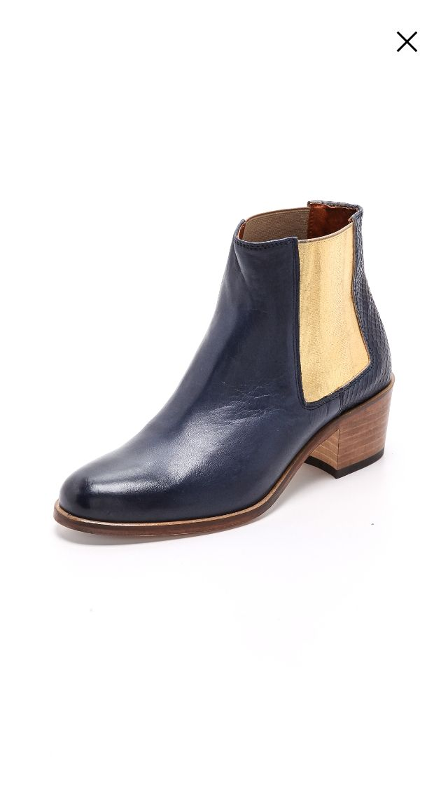 Shopbop navy boots