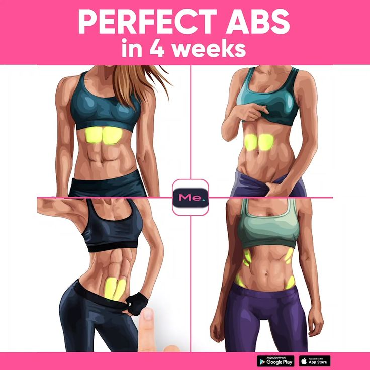 Get Perfect ABS in 4 Weeks at Home with Effective Workout – BetterMe