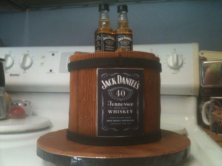 Jack Daniel's cake 2017