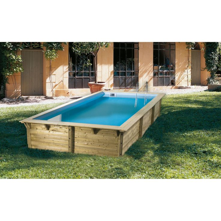 Best 25 liner piscine hors sol ideas on pinterest for Piscine bois 5m