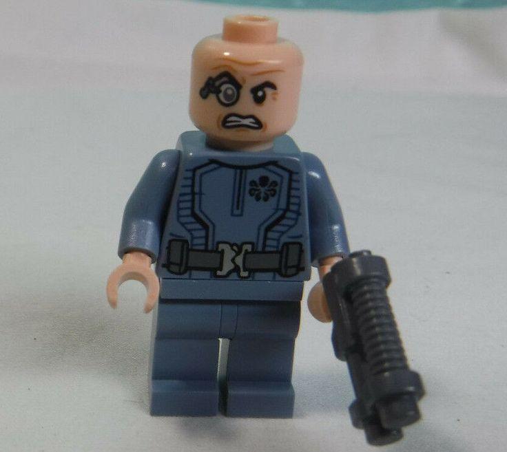 LEGO Marvel Baron Von Strucker minifigure Hydra Fortress ...
