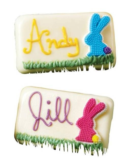 Name the Bunny Candy Place Cards