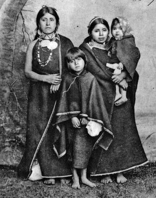 Indigenous Mapuche people, Chile, 1907.