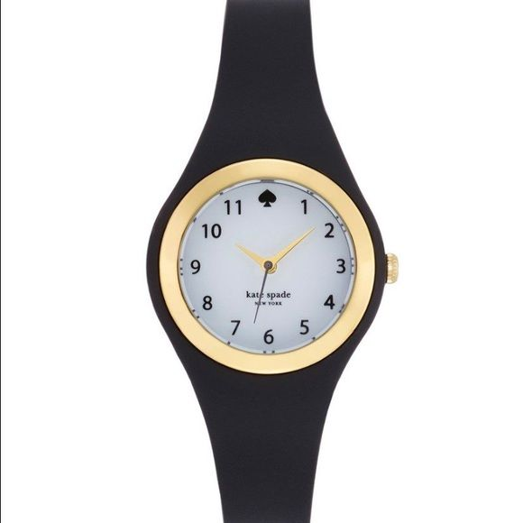 Kate Spade rubber watch Lightly used, still in great condition! I love it, but it doesn't fit me as I'd like. Comment if you have any questions ! Sorry, no trades. kate spade Accessories Watches