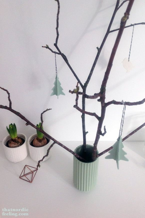 1. Advent: Give away with a Nordic twist via that nordic feeling | Lyngby vase