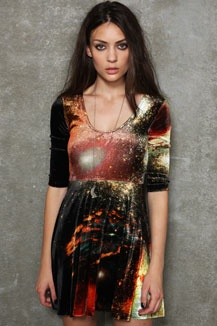 Evil Twin Outer Limits Skater Dress