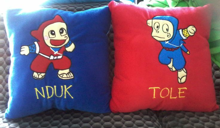 Bantal couple, pillow Custom #FunnyPillow #NinjaHatori