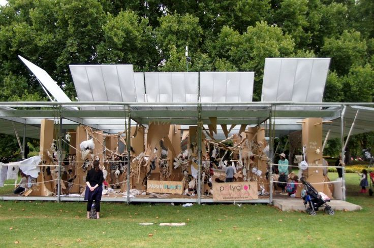 HOT: Paper Planet by Polyglot Theatre, MPavilion, Queen Victoria Gardens, Melbourne http://bit.ly/paperplanetmelb