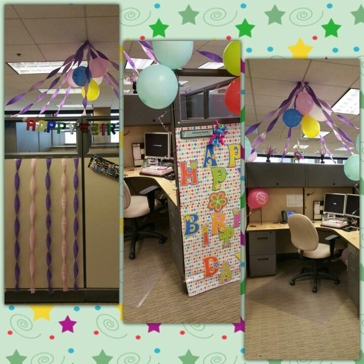 1000+ Ideas About Office Birthday Decorations On Pinterest