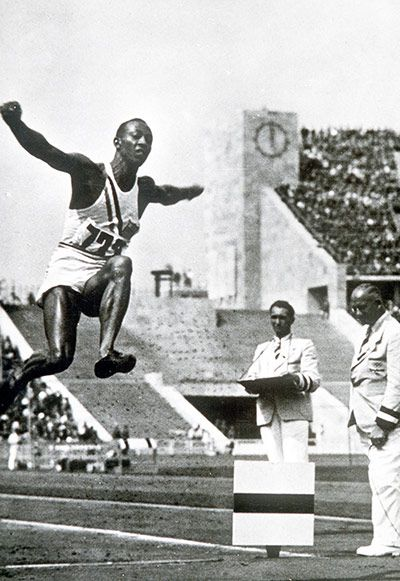 50 stunning Olympic moments: Jesse Owens 4 golds in Berlin – in pictures