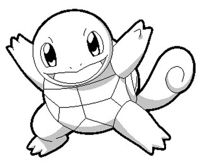 Squirtle Coloring Pages Pokemon Coloring Pokemon Coloring Pages Pokemon Sketch