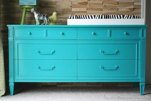 Caspian Blue Dresser Vintage Henredon Fabulous Furniture Pinterest Turquoise Hats And