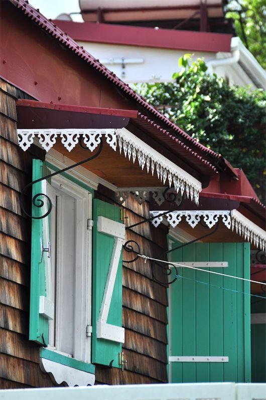La Réunion : cases créoles