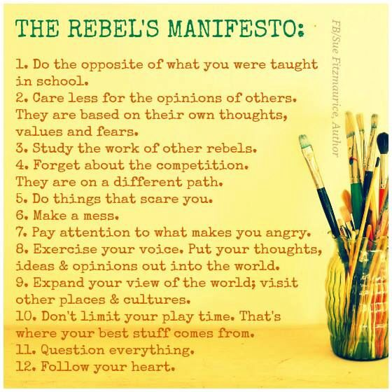Quotes About Rebellion: Spiritual/Motivational