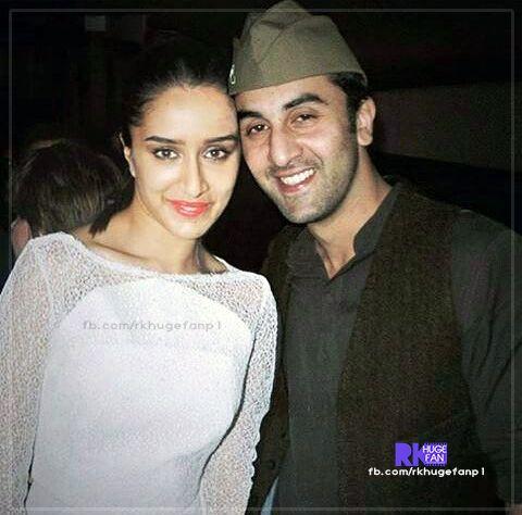 Ranbir and Shraddha Kapoor cute picture