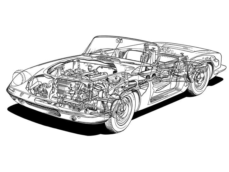 1962 64 lotus elan s1 type 26 illustrated by theo page