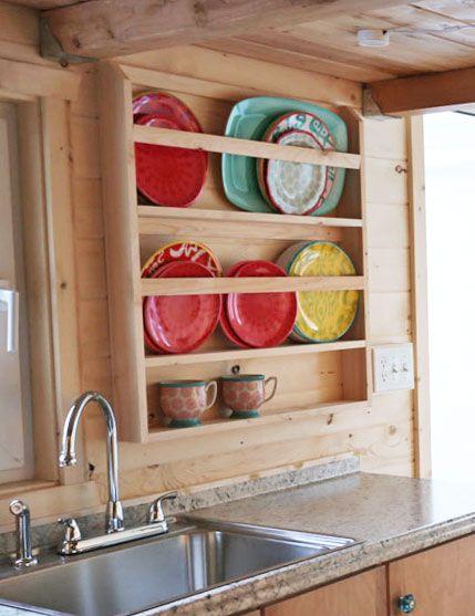 Wooden Plate Rack Plans