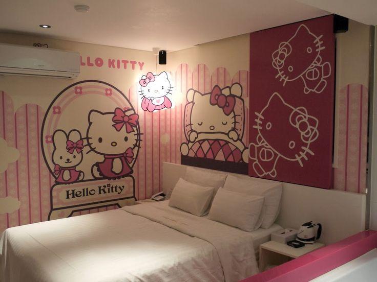 20 desain kamar tidur bernuansa hello kitty berbagi sejuta info adorable wallpapers pinterest kitty kitten and wallpaper