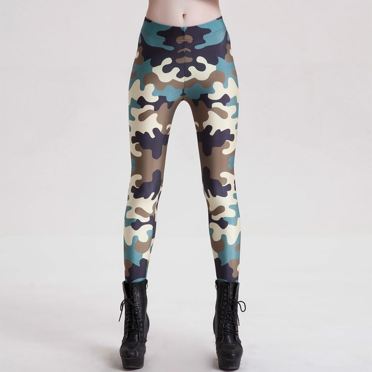 Womens Realtree Camo Yoga Pants