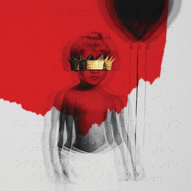 """Needed Me"" by Rihanna added to Today's Top Hits playlist on Spotify From Album: ANTI"