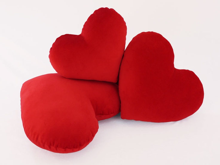 Red Heart Decorative Pillow : 30 best images about Plush Hearts on Pinterest Pink hearts, Heart and Hot pink