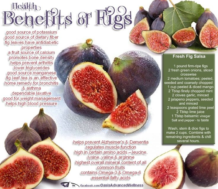 Learning about the health benefits of figs. I want to start eating more figs! They're delicious and easy to have on hand for a quick treat!