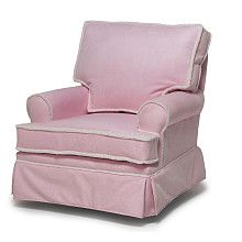Rock A Bye Adult Square Back Glider   Pink