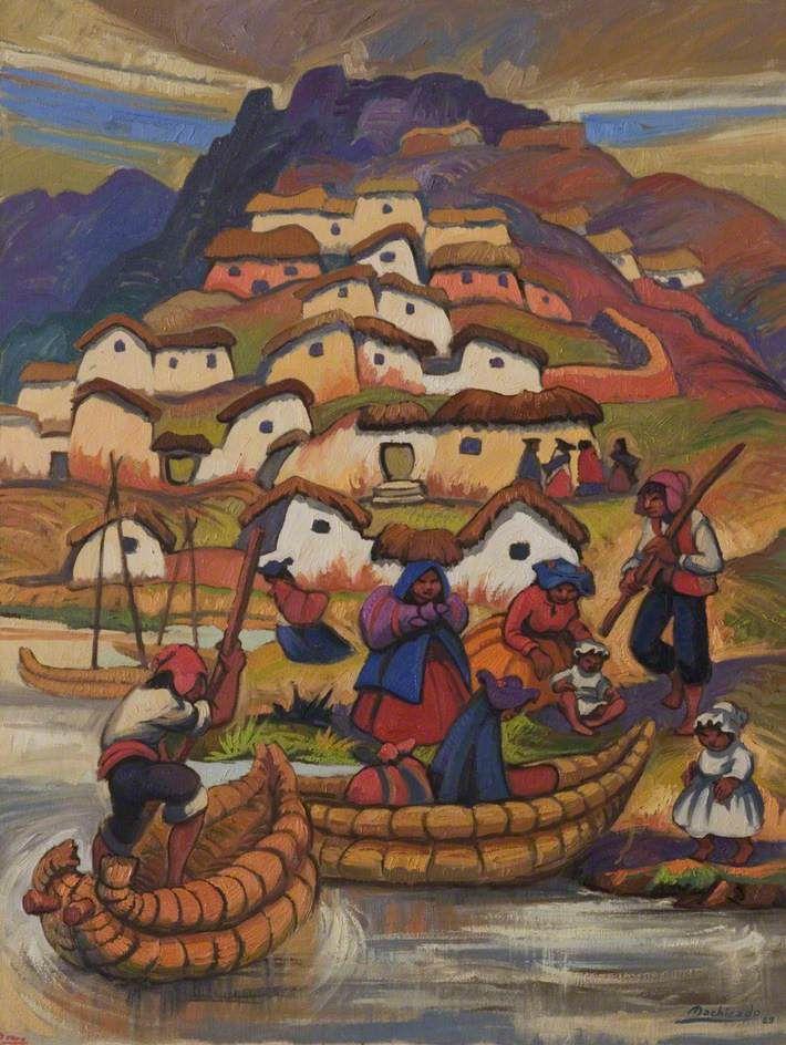 Juan de la Cruz Machicado (1935-) - Titicaca, 1989