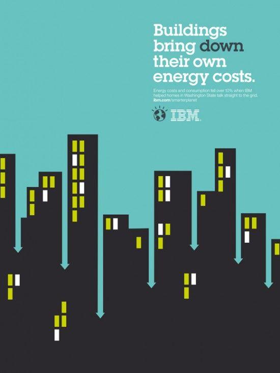 IBM poster illustration