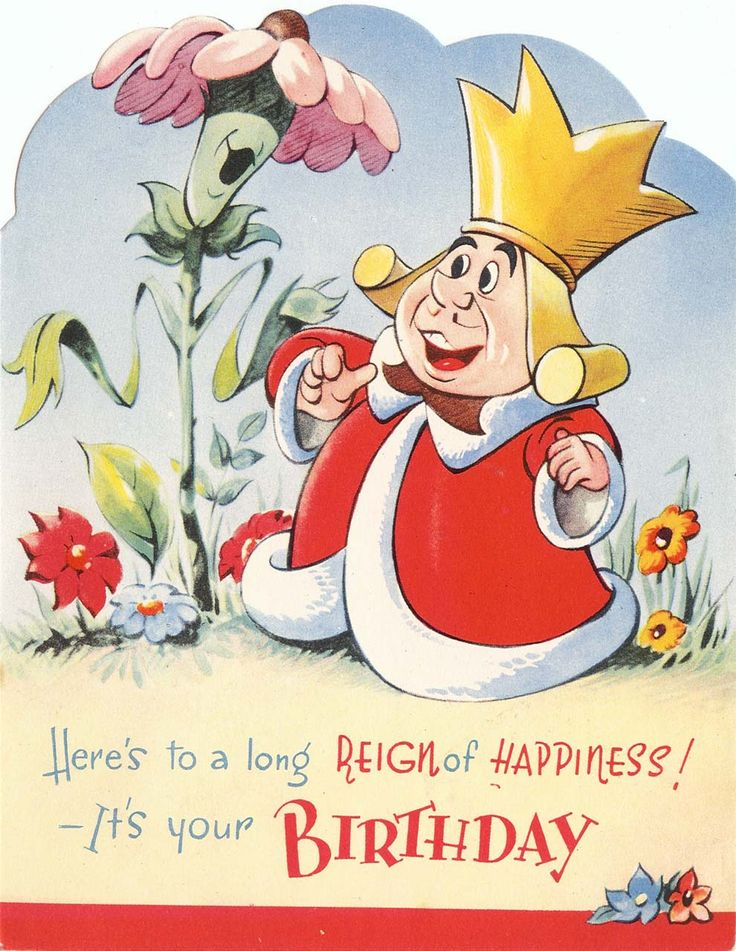 King of Hearts Birthday Card by Valentine's of Great Britain