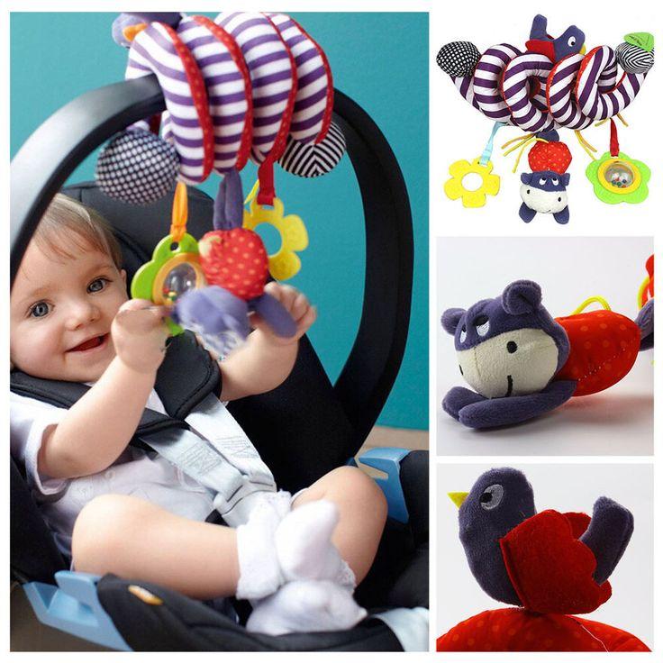 Good Animal Handbells Developmental Toy Bed Bells Kids Baby Soft Toys Rattle #Unbranded