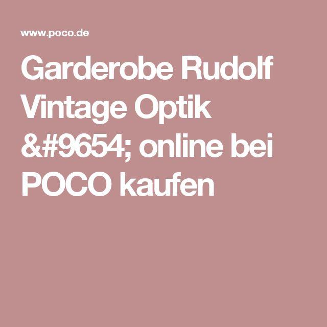 Superb Garderobe Rudolf Vintage Optik