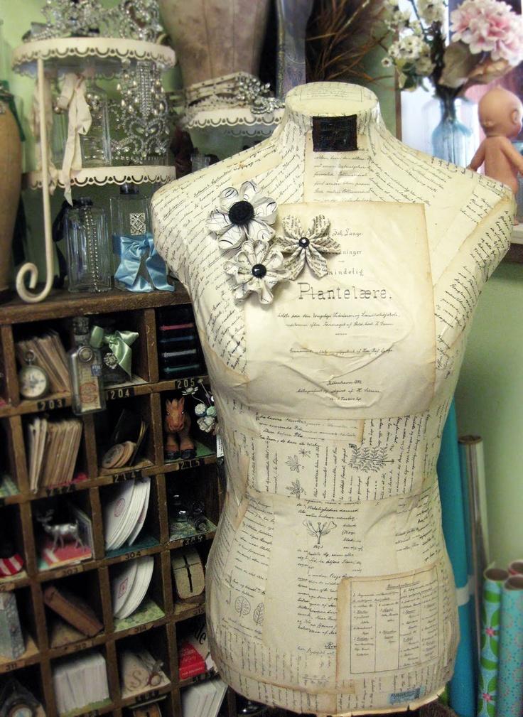 125 best dress forms images on Pinterest | Dress form, Display ...